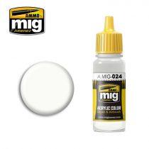 A.MIG-0024 Mosható fehér álca - WASHABLE WHITE CAMO