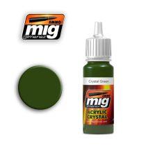 A.MIG-0092 Zöld üveg - CRYSTAL GREEN