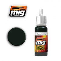 A.MIG-0095 Füstös üveg - CRYSTAL SMOKE
