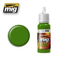 A.MIG-0096 Periszkóp zöld üveg - CRYSTAL PERISCOPE GREEN