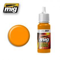 A.MIG-0097 Narancssárga üveg - CRYSTAL ORANGE