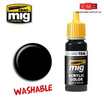 A.MIG-0104 WASHABLE BLACK