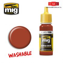 A.MIG-0109 WASHABLE RUST