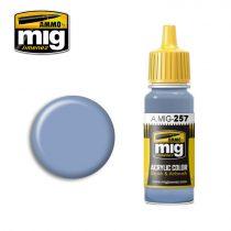 A.MIG-0257 AZURE BLUE