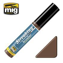 A.MIG-1250 Streaking Brushers - Medium Brown