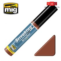 A.MIG-1254 Streaking Brushers - Rust