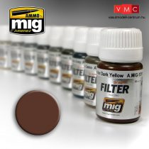 A.MIG-1500 Barna filter fehérhez - BROWN FOR WHITE