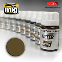 A.MIG-1504 Barna filter sivatagi sárgához - BROWN FOR DESERT YELLOW
