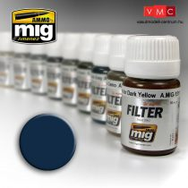 A.MIG-1509 Filter panzer szürkéhez - BLUE FOR DARK GREY