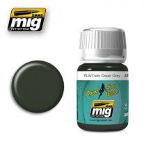 A.MIG-1608 Panelvonal bemosó - PLW DARK GREEN GREY