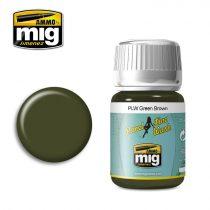 A.MIG-1612 Panelvonal bemosó - PLW GREEN BROWN