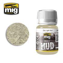 A.MIG-1700 DRY LIGHT SOIL - Száraz, világos talaj - Vastag textúrájú sár / föld effekt -