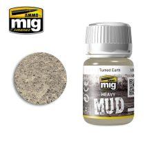 A.MIG-1702 TURNED EARTH - Vastag textúrájú sár / föld effekt - HEAVY MUD sár effekt