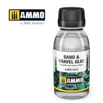 A.MIG-2012 Homok és kavics ragasztó - SAND & GRAVEL GLUE