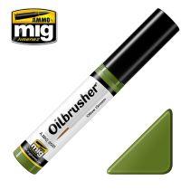 A.MIG-3505 OILBRUSHER Olajfesték - OLAJZÖLD, OLIVE GREEN