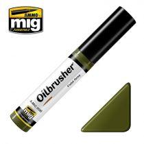A.MIG-3506 OILBRUSHER Olajfesték - FIELD GREEN