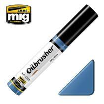 A.MIG-3528 OILBRUSHER Olajfesték - Ég Kék - Sky Blue