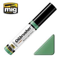 A.MIG-3529 OILBRUSHER Olajfesték - Világoszöld - Mecha Light Green