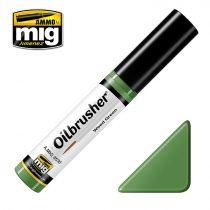 A.MIG-3530 OILBRUSHER Olajfesték - Gyom Zöld - Weed Green