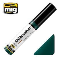 A.MIG-3531 OILBRUSHER Olajfesték - Sötétzöld - Mecha Dark Green