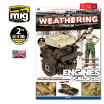 A.MIG-4503 THE WEATHERING MAGAZINE (ENGLISH) ENGINES, FUEL AND OIL - MOTOROK, ÜZEMANYAG ÉS OL