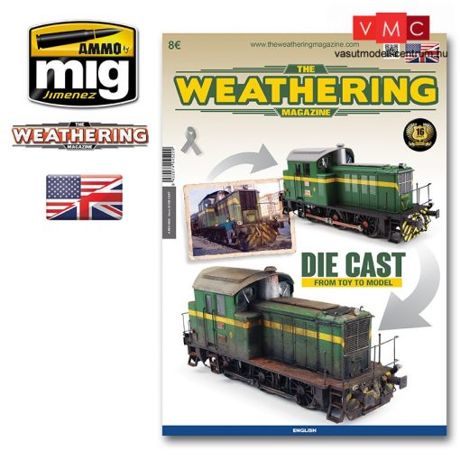 A.MIG-4522 Issue 23. DIE CAST: FROM TOY TO MODEL ENGLISH