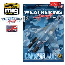 A.MIG-5206 TWA ISSUE 6 CAMOUFLAGE (ENGLISH) - Álcafestés (Angol nyelvű) - The Weathering Air