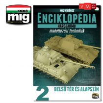 A.MIG-6151 ENCYCLOPEDIA OF ARMOUR MODELLING TECHNIQUES VOL. 2 – INTERIORS & BASE COLOR (Angol
