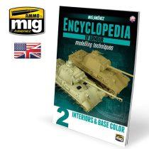 AMIG6151 Magyar nyelvű harcjármű makettezési technikák enciklopédia 2. kötet - Belső tér és alapszín