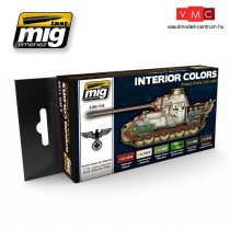 A.MIG-7108 INTERIOR COLORS: GERMAN TANKS