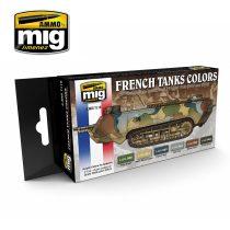 A.MIG-7110 I. és II. világháborús Francia álcaszínek - WW I & WW II French Camouflage Col