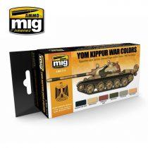A.MIG-7113 Jóm kippúri háború festék szett - YOM KIPPUR WAR COLORS SET