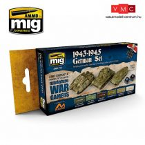 A.MIG-7117 WARGAME 1943-1945 GERMAN SET