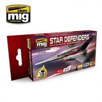 A.MIG-7130 STAR DEFENDERS SCI-FI COLORS