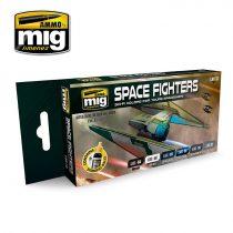 AMIG7131 SPACE FIGHTERS SCI-FI COLORS - akril festék szett