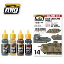 A.MIG-7144 I. világháborús Német színek - WWI GERMAN TANKS