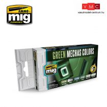 A.MIG-7149 GREEN MECHAS COLORS