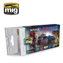 A.MIG-7153 SPACE LEGIONS COLOR SET