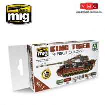 A.MIG-7165 Királytigris Belső Tér Színek - KING TIGER INTERIOR COLOR (SPECIAL TAKOM EDITION