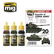 A.MIG-7172 M48H RoCA (REPUBLIC OF CHINA ARMY) akril festék szett