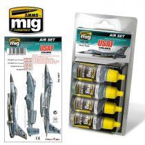A.MIG-7202 USAF COLORS Grey Modern Jets