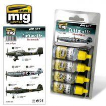 A.MIG-7210 LUFTWAFFE WWII EARLY COLORS - korai vszínek