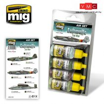 A.MIG-7221 LUFTWAFFE 2. világháború végi színek - WWII END WAR COLORS