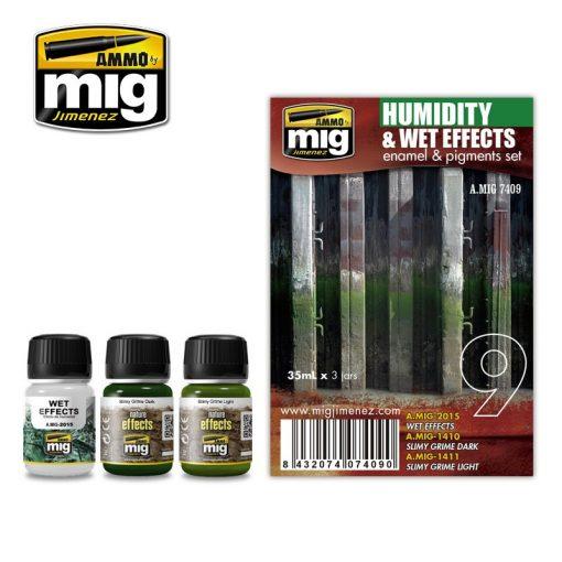 A.MIG-7409 Nedvesség effekt szett - HUMIDITY AND WET EFFECTS