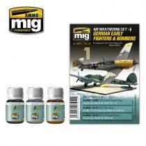 A.MIG-7414 Korai német vadászrepülők és bombázók - GERMAN EARLY FIGHTERS AND BOMBERS