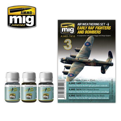 A.MIG-7416 RAF vadászrepülők és bombázók - RAF FIGHTERS AND BOMBERS