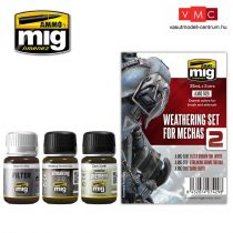 A.MIG-7429 WEATHERING SET FOR MECHAS