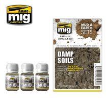 A.MIG-7439 DAMP SOILS - Nedves Talaj Sár Effekt Szett