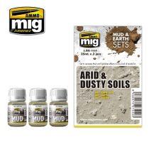 A.MIG-7440 ARID & DUSTY SOILS - Száraz és Poros Talaj Sár Effekt Szett