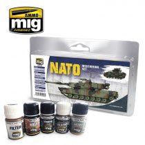 A.MIG-7446 NATO WEATHERING SET